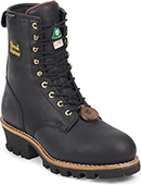 Logger Work Boots, Carolina, Georgia Boot, Gearbox, Golden Retriever Loggers Boots